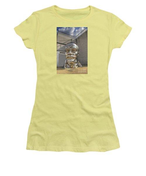 Lenin On La Brea Women's T-Shirt (Athletic Fit)