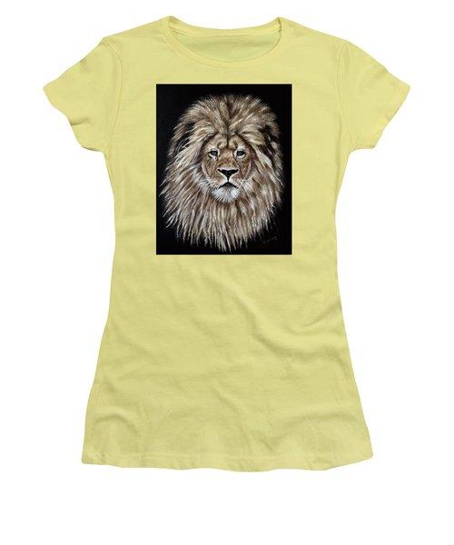 Leonardo Women's T-Shirt (Junior Cut) by Teresa Wing