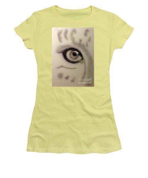 Leopard's Eye Women's T-Shirt (Athletic Fit)