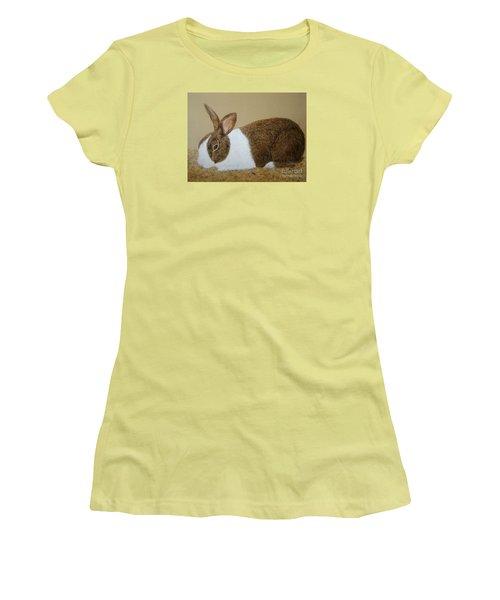 Les's Rabbit Women's T-Shirt (Athletic Fit)
