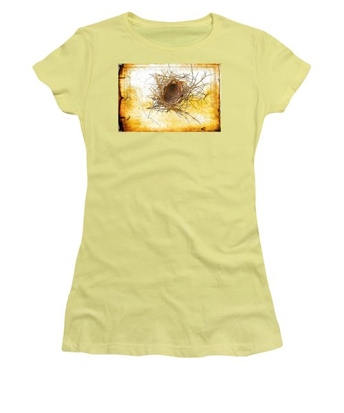 Women's T-Shirt (Junior Cut) featuring the photograph Let Go by Jan Amiss Photography