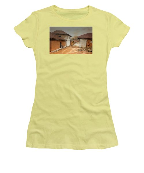Let There Be Peace In Our Land Women's T-Shirt (Junior Cut) by Bankole Abe