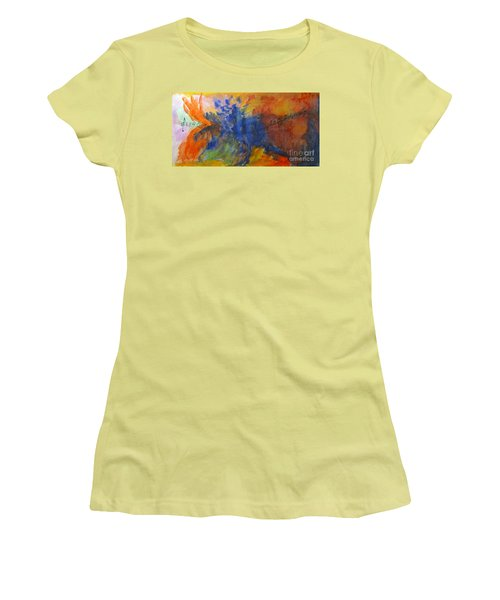 Let Your Music Take Wing Women's T-Shirt (Junior Cut) by Sandy McIntire