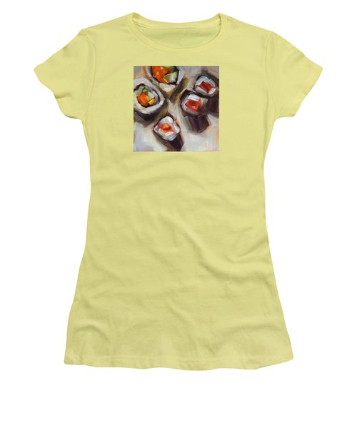 Let's Do Sushi Women's T-Shirt (Athletic Fit)