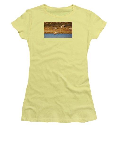 Let's Go Women's T-Shirt (Athletic Fit)