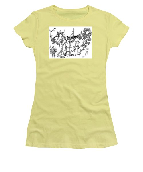 Levitation Women's T-Shirt (Junior Cut) by Charles Cater
