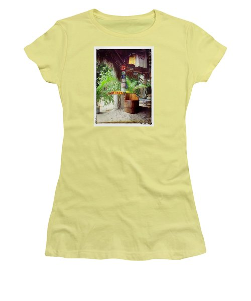 License To Drink Women's T-Shirt (Junior Cut) by Linda Olsen