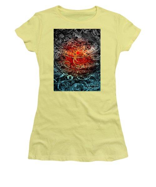 Life Begins Women's T-Shirt (Junior Cut) by Nancy Kane Chapman