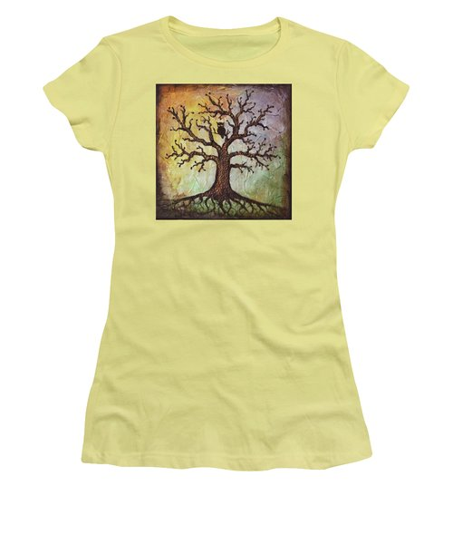Life Of Wisdom Women's T-Shirt (Junior Cut) by Agata Lindquist