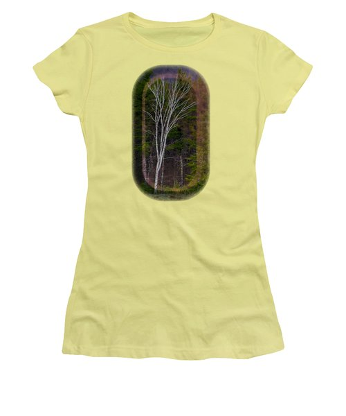 Life's A Birch No.1 Women's T-Shirt (Athletic Fit)