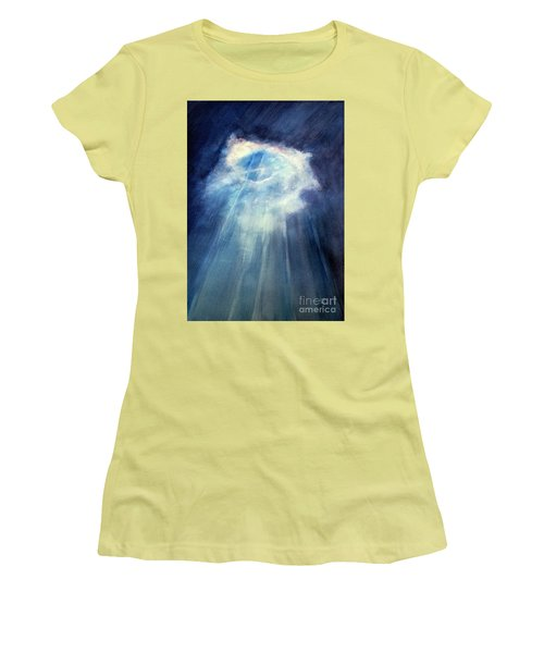Light Beams Women's T-Shirt (Athletic Fit)