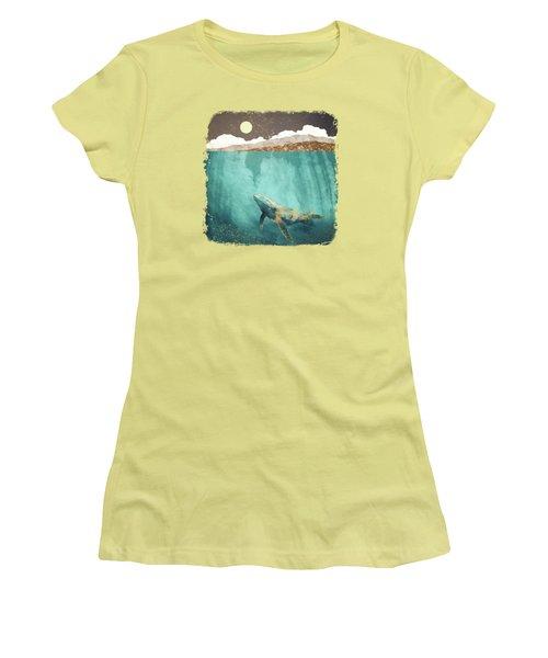 Light Beneath Women's T-Shirt (Athletic Fit)