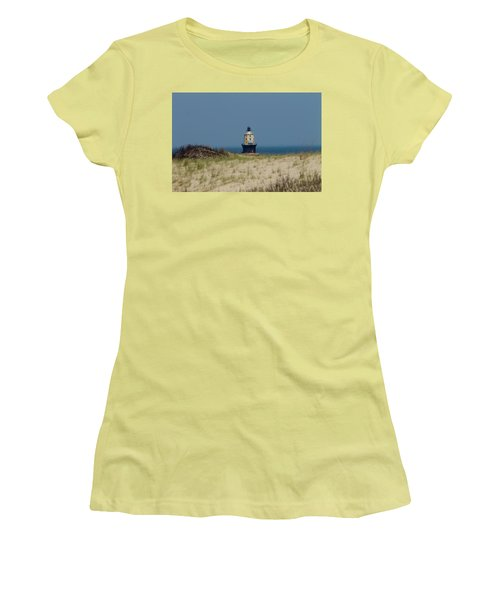 Light House At The Cape Women's T-Shirt (Athletic Fit)