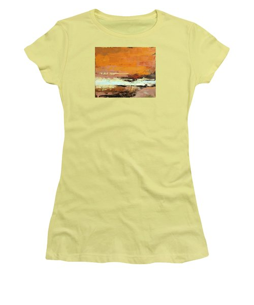 Light On The Horizon Women's T-Shirt (Junior Cut) by Nathan Rhoads