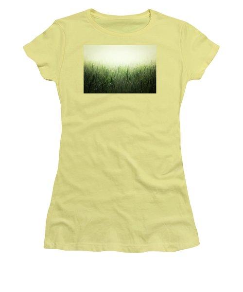 Light Storm Women's T-Shirt (Junior Cut) by Peter Scott