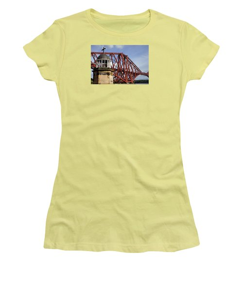 Women's T-Shirt (Junior Cut) featuring the photograph Light Tower by Jeremy Lavender Photography