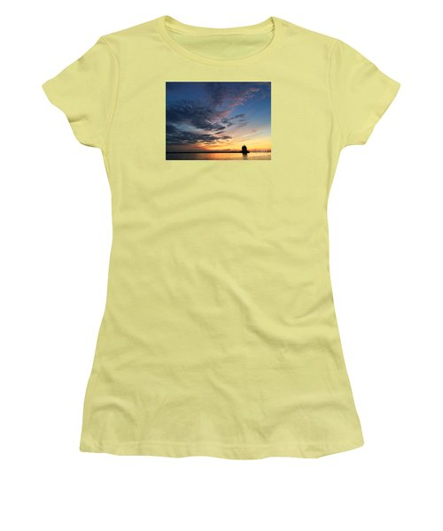 Lighthouse In Lorain Women's T-Shirt (Athletic Fit)