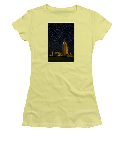 Lighting The Sky Women's T-Shirt (Athletic Fit)