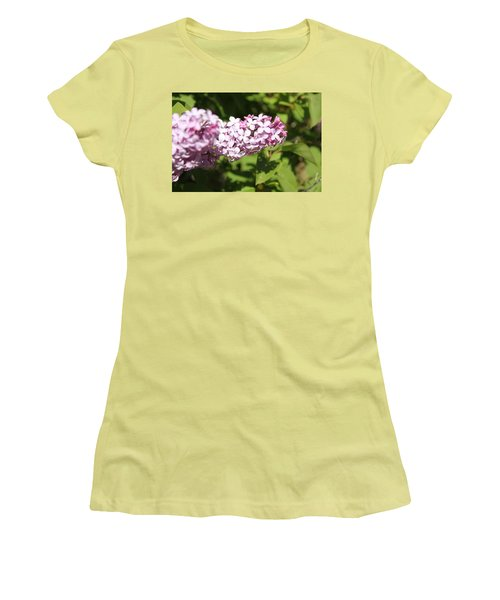 Women's T-Shirt (Junior Cut) featuring the photograph Lilacs 5550 by Antonio Romero