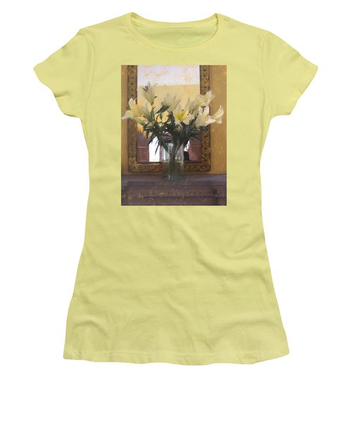 Lilies Women's T-Shirt (Athletic Fit)