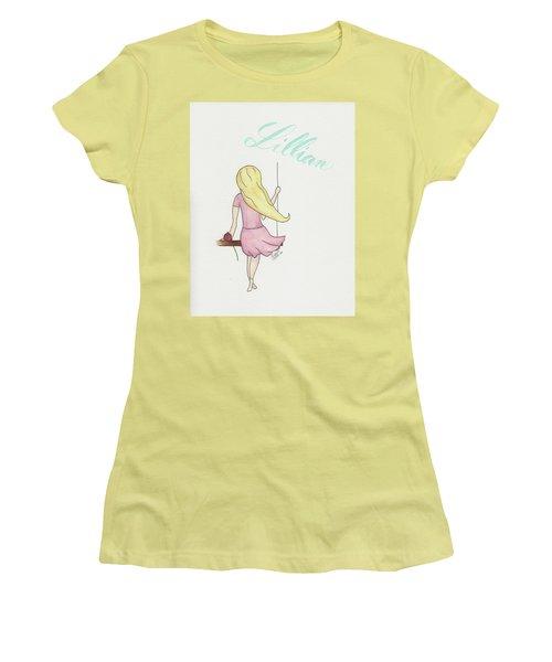 Lillian Women's T-Shirt (Athletic Fit)