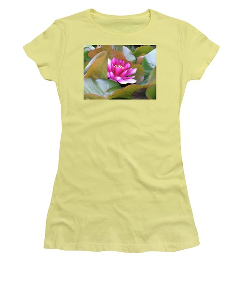 Lilly In Bloom Women's T-Shirt (Athletic Fit)