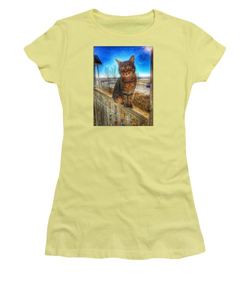 Lily Of The Farm Women's T-Shirt (Junior Cut) by Jame Hayes