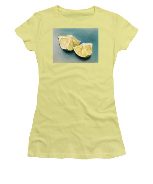 Limes Women's T-Shirt (Athletic Fit)
