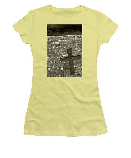 Line Up Women's T-Shirt (Athletic Fit)