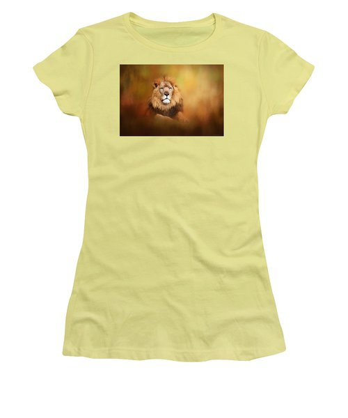 Lion - Pride Of Africa I - Tribute To Cecil Women's T-Shirt (Athletic Fit)