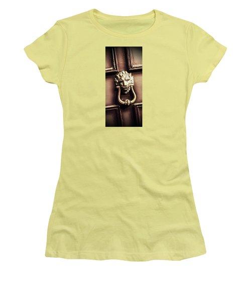 Lion's Den Women's T-Shirt (Athletic Fit)