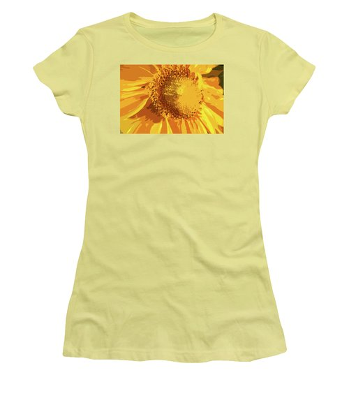 Liquid Petals -  Women's T-Shirt (Athletic Fit)