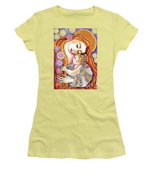 Little Angel Sleeping Women's T-Shirt (Athletic Fit)