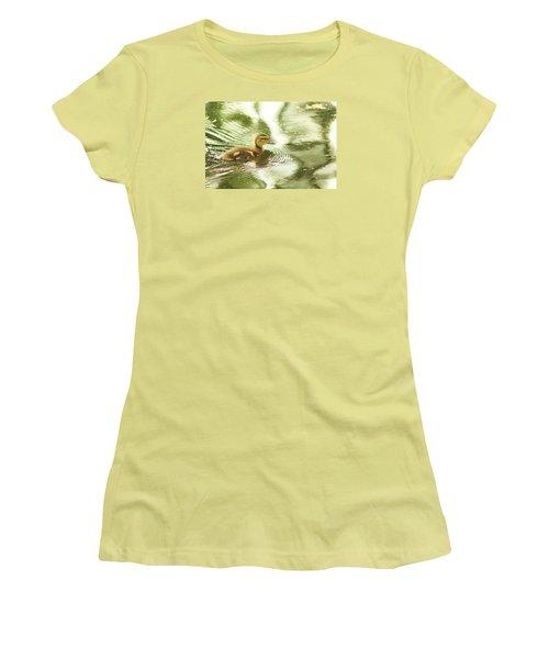 Little Ducky Women's T-Shirt (Athletic Fit)