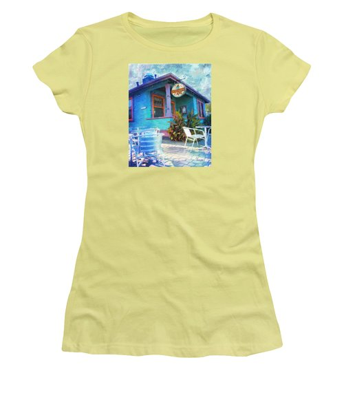 Little House Cafe  Women's T-Shirt (Athletic Fit)