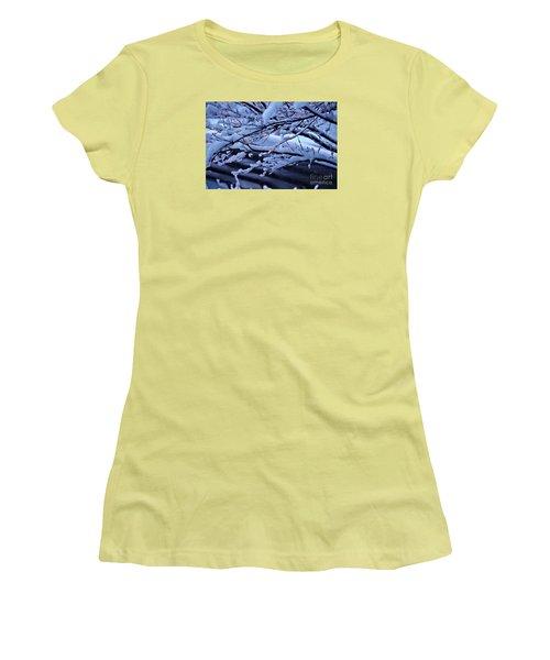 Little Light Make Me Smile  Women's T-Shirt (Junior Cut) by Yumi Johnson