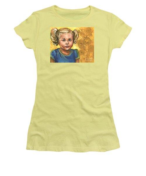 Little Miss Sunshine Women's T-Shirt (Junior Cut) by Alga Washington