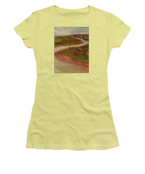 Little Missouri Overlook  Women's T-Shirt (Athletic Fit)