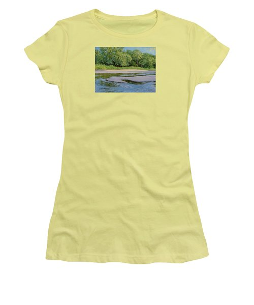 Little Sioux Sandbar Women's T-Shirt (Athletic Fit)