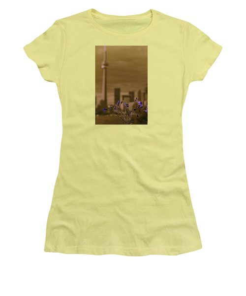 Women's T-Shirt (Junior Cut) featuring the photograph Live Beautifully by The Art Of Marilyn Ridoutt-Greene