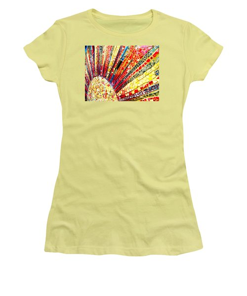 Living Edgewater Mosaic Women's T-Shirt (Athletic Fit)