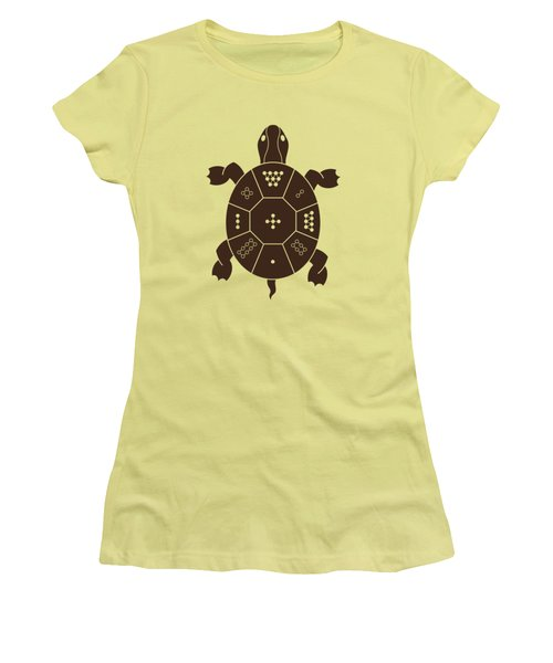 Lo Shu Turtle Women's T-Shirt (Athletic Fit)