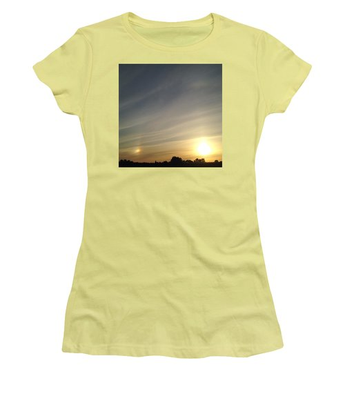 Lobbing Rainbows Into The Sun Women's T-Shirt (Athletic Fit)