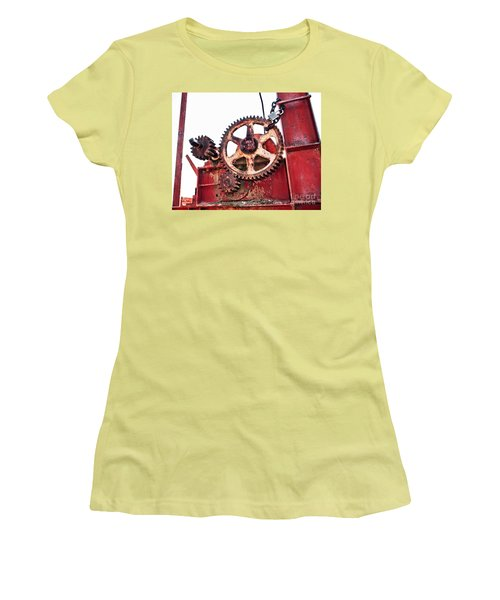 Women's T-Shirt (Athletic Fit) featuring the photograph Locked In History by Stephen Mitchell