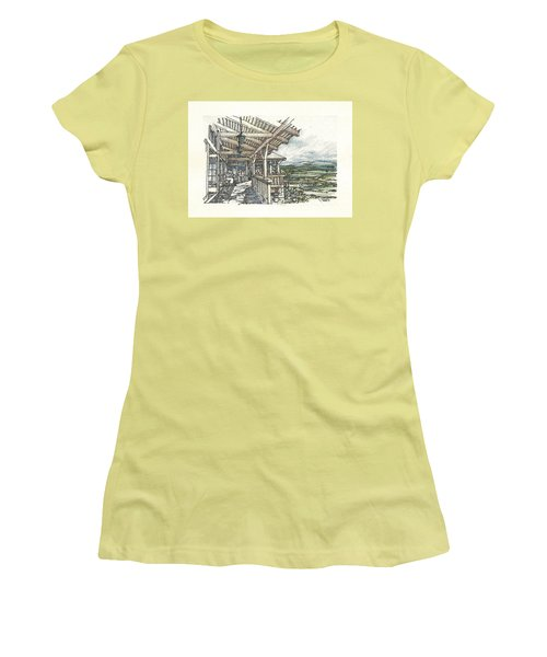 Lodge 2 Women's T-Shirt (Junior Cut) by Andrew Drozdowicz