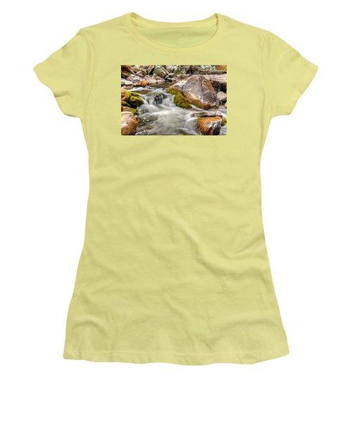Logan Creek, Montana 2 Women's T-Shirt (Athletic Fit)