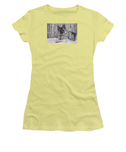 Loki By Fence Women's T-Shirt (Athletic Fit)