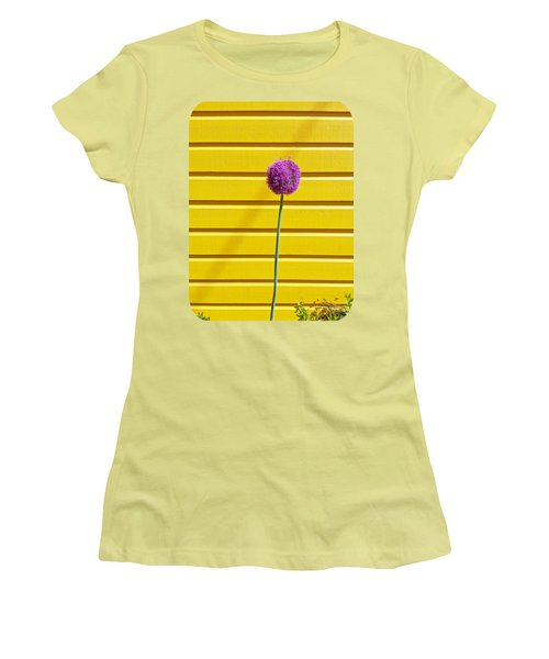 Lollipop Head Women's T-Shirt (Junior Cut) by Ethna Gillespie
