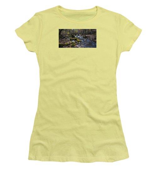 Lonesome Bridge Women's T-Shirt (Athletic Fit)