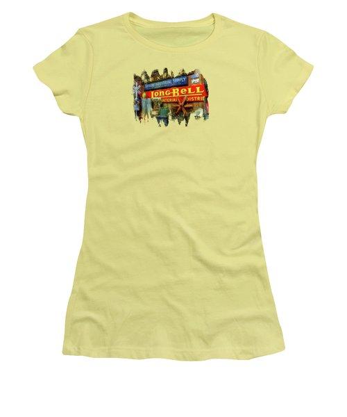 Long Bell  Women's T-Shirt (Junior Cut) by Thom Zehrfeld